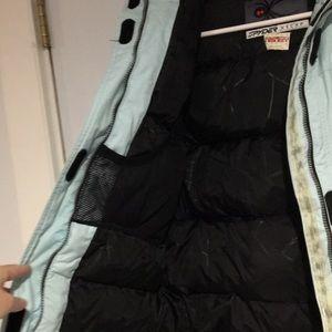 Spyder Jackets & Coats - Spyder kids  blue winter parka size 14